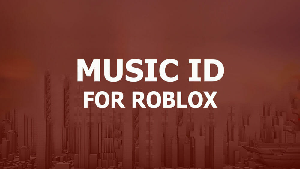 music id for roblox