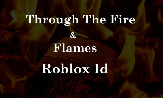 Through the Fire and Flames Roblox ID I Dragonforce