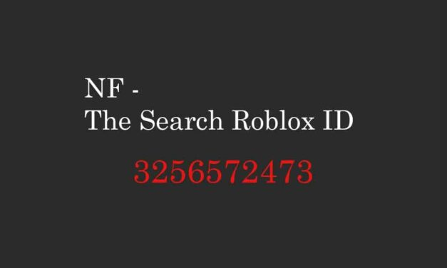 NF – The Search Roblox ID – Roblox Music codes